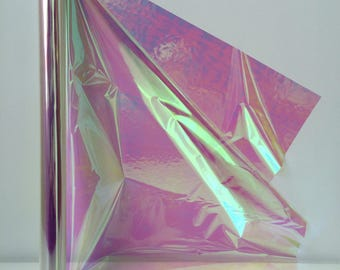 Iridescent Cello Film Rolls Choose From 10M 20M 50M 100M  Perfect for Fairy Wings And Theatre Props