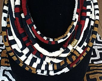 African Rope Necklace (6 strands)