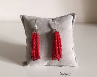 RUBINO NAPPINA EARRINGS - Crystal stud earrings