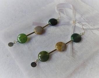 """trio"" earrings"