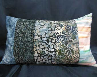 "Large cushion collection ""Indian summer"", rectangle, 5 bands (CG252)"