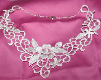 COTTON BRIDAL NECKLACE