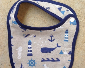 Bib birth sponge sea collection
