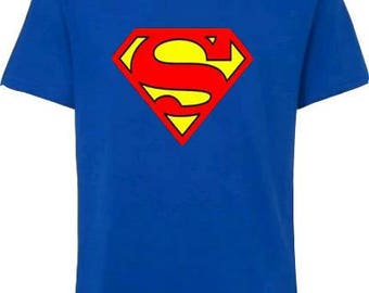 Boy's Superman Tshirt