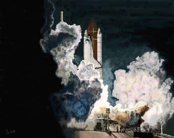 Launch in the Dark