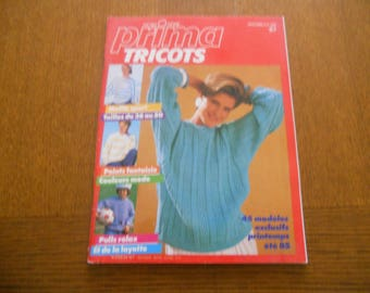 Prima knits Special Edition spring summer 1985
