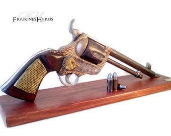 Replica revolver cal.44 Mustang, made entirely by hand