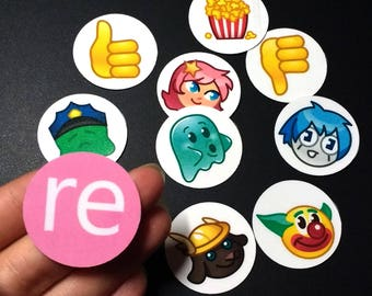 Essential recolor.me Sticker Set