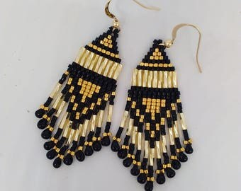 metal beads plated gold 24 kt