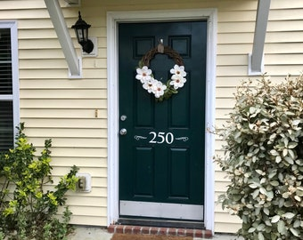 Front door monogram,Front door decal,Mailbox decal,Family decal,Address decal,Home sweet home,new house,personalized address,front porch