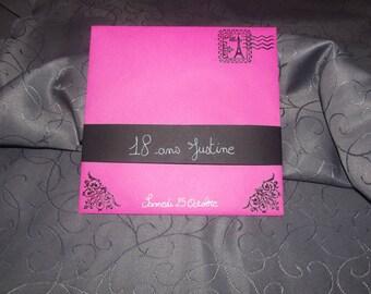 Petite paris theme, pink wedding, anniversary