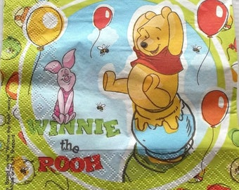 20 napkins WINNIE the Pooh and friends REF. 3352