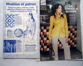 BOSS PRIMA No. 221 - Jacket trench coat for women