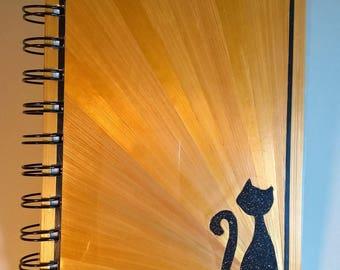 Book cat decor