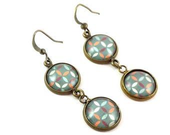 Earrings pendants #wallpaper 70's.