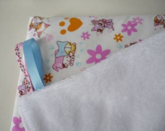 Cosy baby blanket with cats