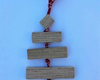 Christmas ornament / tree wood