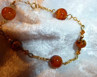 Genuine MURANO glass bracelet