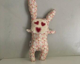 Liberty Bunny rabbit plush