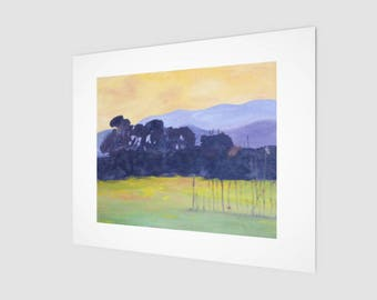 Art Print - Golden Sky Nature