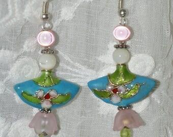 """turquoise"" earrings"