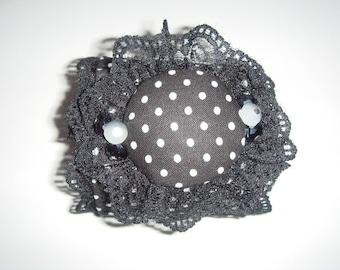 """sophia"" white dots Cuff Bracelet"