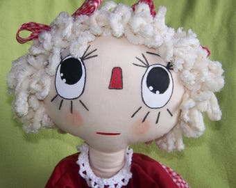 SELLING hand made raggedy doll