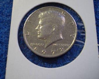 1972 Kennedy Half Dollar