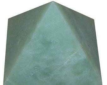 Pyramid amazonite 35mm