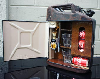 1954 war department Jerry can Mini Bar