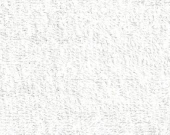 Fabric white towel