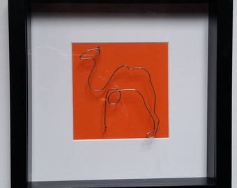 Picasso's one line drawing the Camel