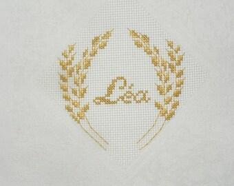 Sam logo embroidery