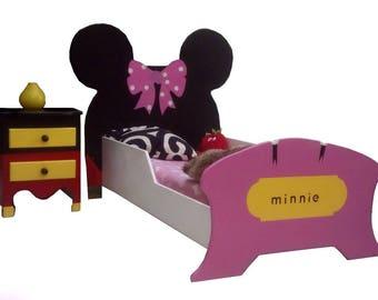 MICKEY MINNIE BED
