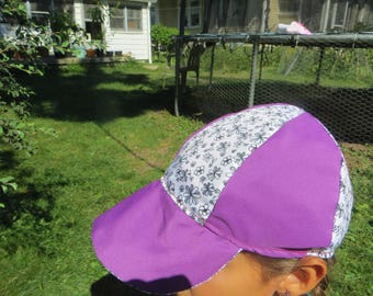 Reversible flower hat