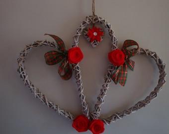 Triple wicker Heart.