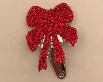 Mini Hair Clip Bow