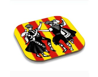 Coasters style catalan 96X96mm