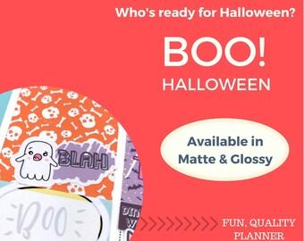 Vertical Weekly Kit | Halloween Theme | Halloween Stickers | Planner Stickers | Vertical | Erin Condren | Happy Planner | WK5