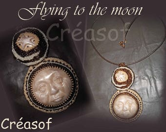 "Necklace ""Flying to the Moon"""