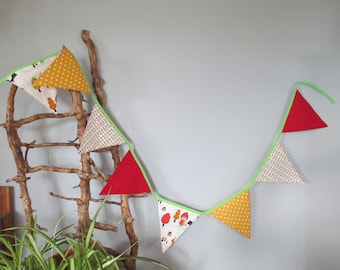 """8 Bunting """"The little Red Riding Hood"""""""