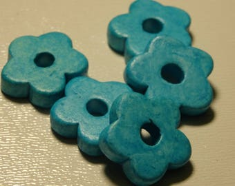 Ceramic flower bead
