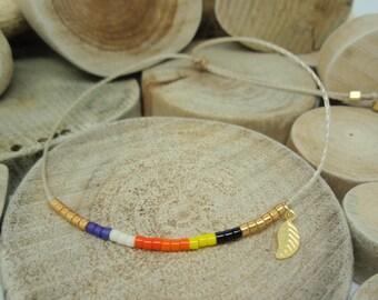 """Bracelet """"Miyuki Rainbow"""" Fatou"""