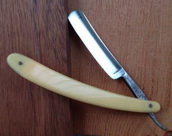Vintage Razor,Straight razor,Shaving accessory,old razor,Soviet Straight razor 1968
