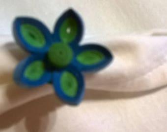 Fancy paper ring