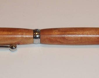 PLUM WOODEN PEN