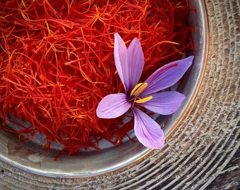 Hand-Harvested Saffron Threads 1 gram