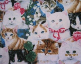 Cats fleece blanket