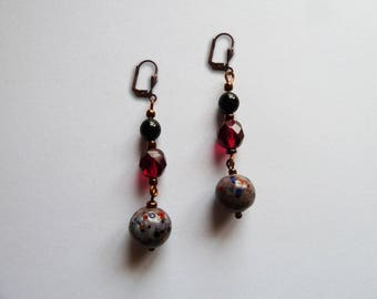 Lobe earrings. Golose passions.