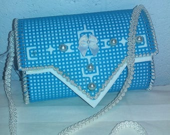 Little Girl Purse - Turquoise